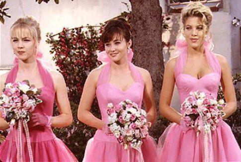 Moda anni '90: Frangia ingellata! (Kelly, Brenda e Donna di Beverly Hills 90210)