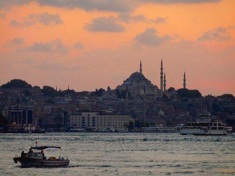 Istanbul al tramonto - foto di Elisa Chisana Hoshi