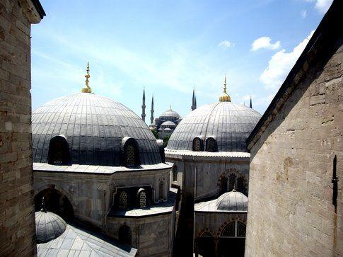 Sultanahmet da Santa Sofia - foto di Elisa Chisana Hoshi