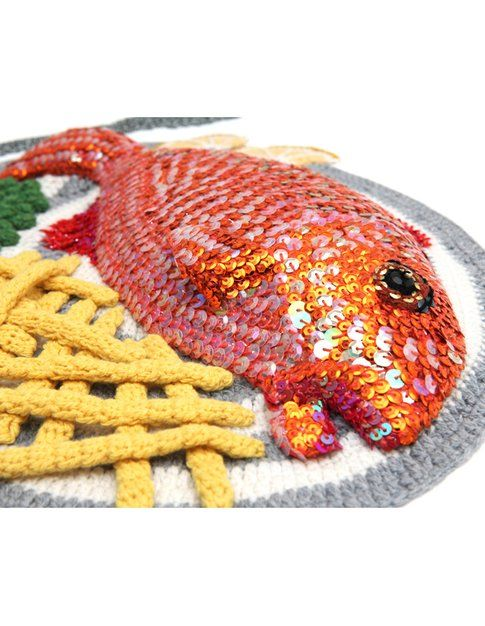 Kate Jenkins Red Mullet, Chips and Peas
