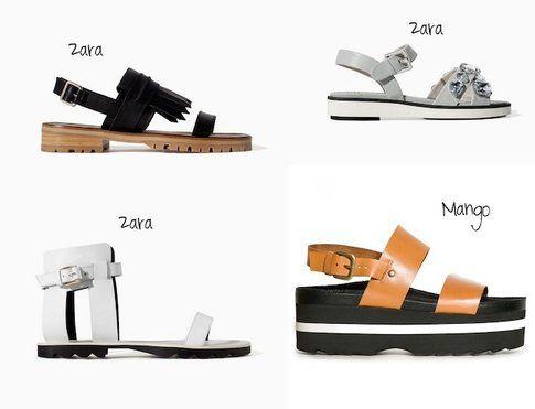Sandali Sportivi, proposte low cost di Zara e Mango