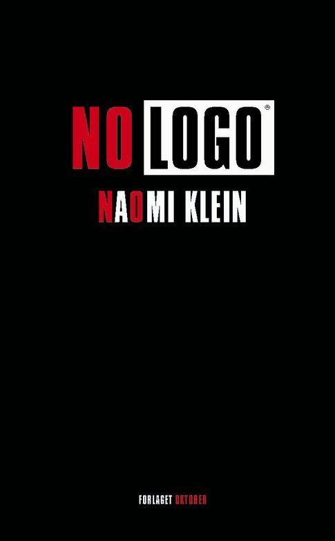 Copertina di No Logo- Naomi Klein
