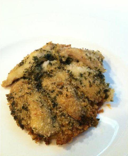 Tortino di filetti di triglia. Ricetta di Valentina Tozza del blog La Cucina che Vale.