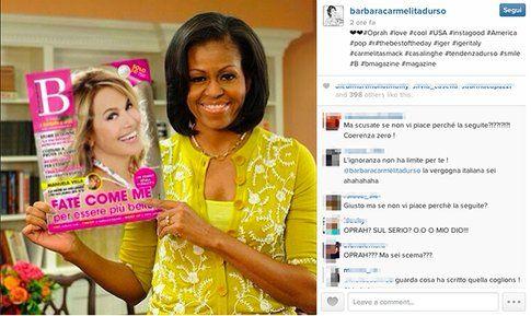 Instagram Barbara D'urso