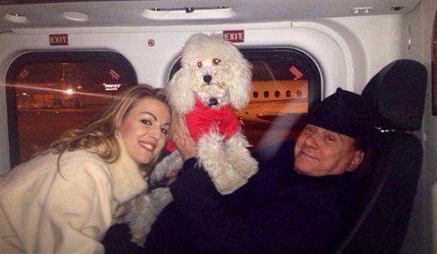 Dudù, il cane di Berlusconi e Francesca Pascale