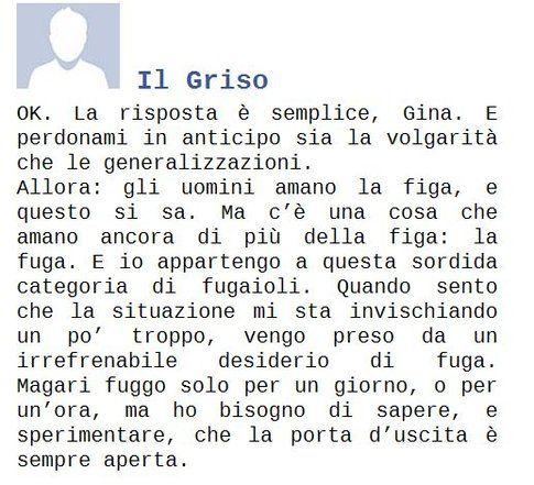 """Estratto di """"Facebook per romantiche"""" - da Rossella Calabrò, autrice del libro"""
