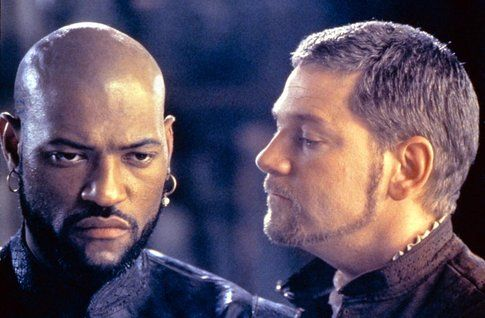 Lawrence Fishburne (Otello) e Kenneth Branagh (Yago) in Othello (1995) - foto Movieplayer.it