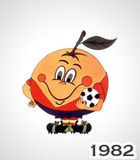 Naranjito, Spagna 1982