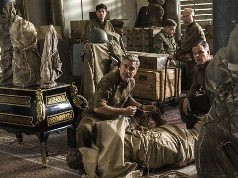 Una scena da Monuments men - Foto Movieplayer.it