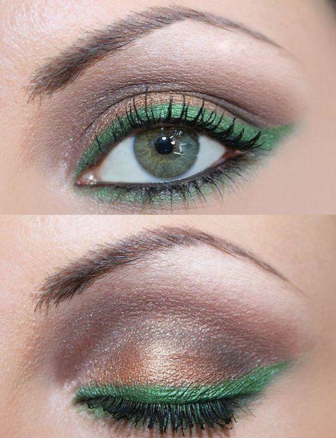 Ispirazione Make-Up Verde Oro - ilmiomakeup.it