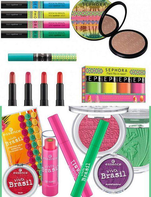 Collezioni Make-up ispirate al brasile di Sephora e Essence