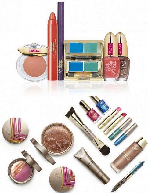 Collezioni Make-up ispirate al brasile di Pupa e Kiko
