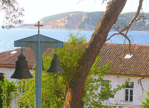 Vista dalla chiesetta di Burgazada - foto di Elisa Chisana Hoshi