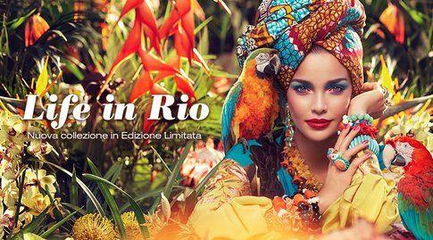 Accessori coloratissimi e maxi per la moda Brasiliana - fonte: Kiko.it