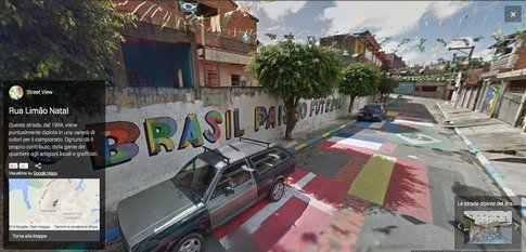 Le strade dipinte del Brasile - Google