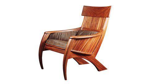 Sabre armchair, Carlos Motta 1993 photo: Romulo Fialdini