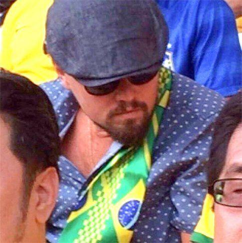 Il tifo di Leonardo Di Caprio