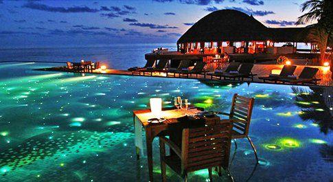 Huvafen Fushi Hotel alle Maldive