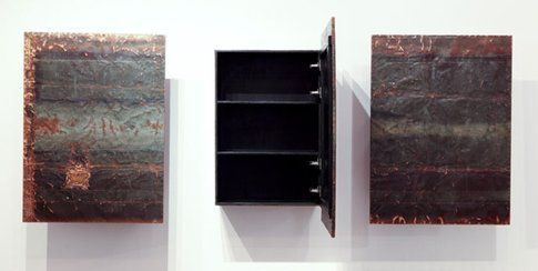 Costanza Algranti. legno, ferro e rame. ph Federica Lazza