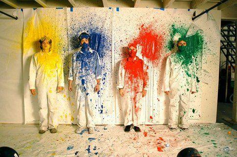 OK Go - foto da pagina okgo.net