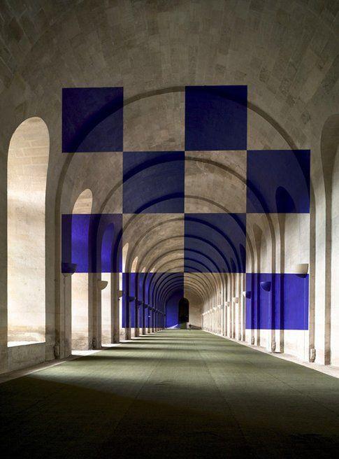 Geometrie di Felice Varini - immagine da varini.org