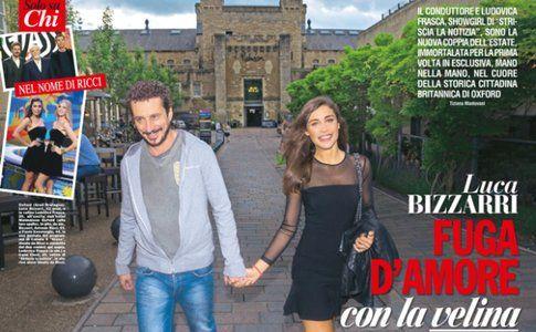 Luca Bizzarri e Ludovica Frasca - foto del giornale Chi