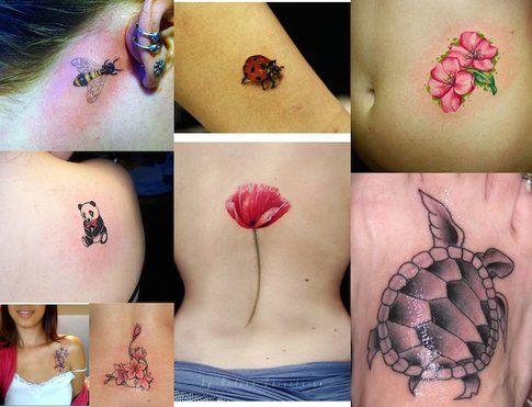 Tatuaggi Piccoli - Fiori