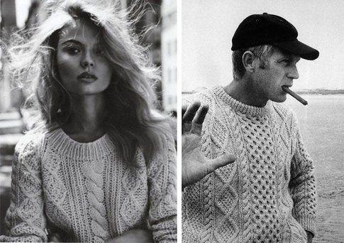 Il maxi pull da uomo - Foto: Vogue