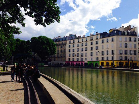 Canal Saint-Martin - foto di Elisa Chisana Hoshi