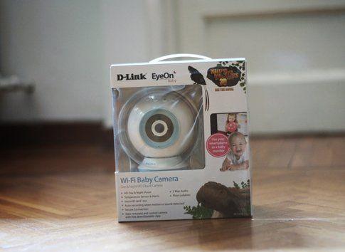 EyeOnBaby Monitor - Dlink ph. credits Momoko Plush