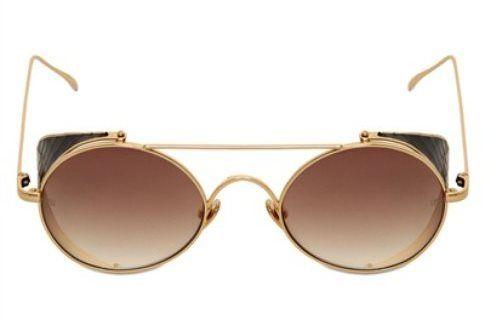 Occhiale da sole con montatura leggera in metallo Linda Farraw 555 euro
