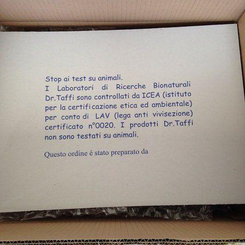 Acqua di Bolgheri - prodotti Cruelty Free