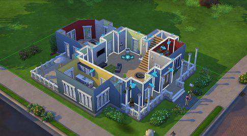 Screenshoot in-game della costruzione di una casa (fonte Multiplayer.it)