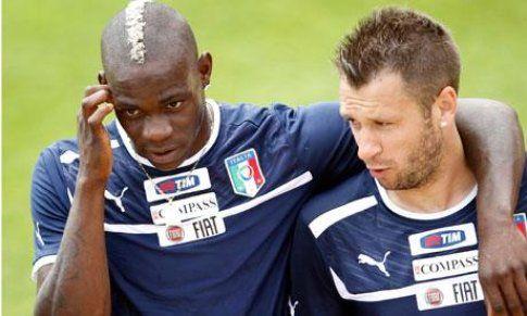 Balotelli e Cassano
