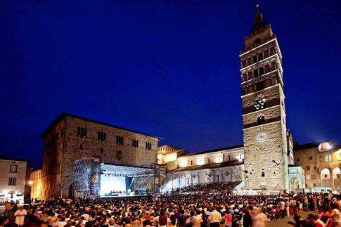 Pistoia Blues in piazza del Duomo - foto Pistoia Blues