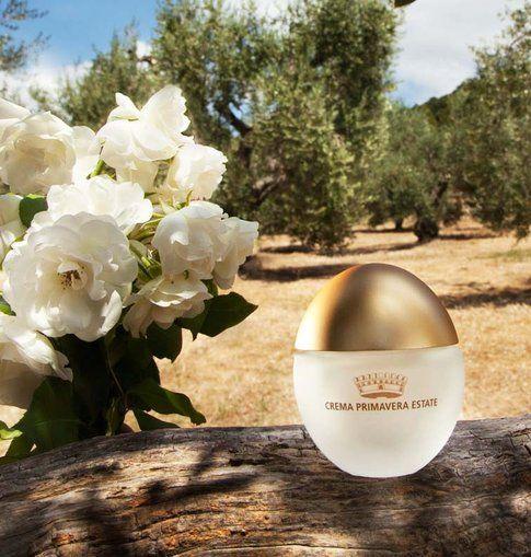 Acqua di Bolgheri crema viso primavera - estate all'altea bianca e all'olio di oliva