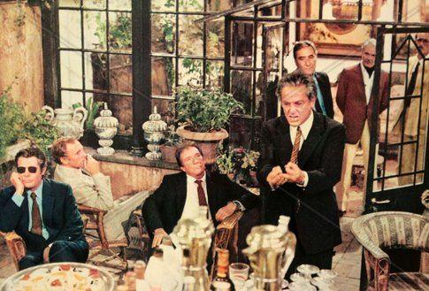 La terrazza di Ettore scola. La cena intellettuale per eccellenza.