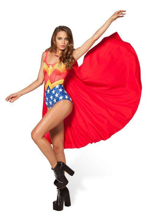 Costume da bagno di Wonder Woman - Blackmilkclothing