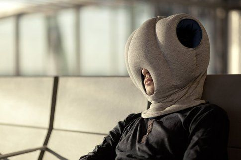 The Ostrich Pillow - by Studio Banana Things