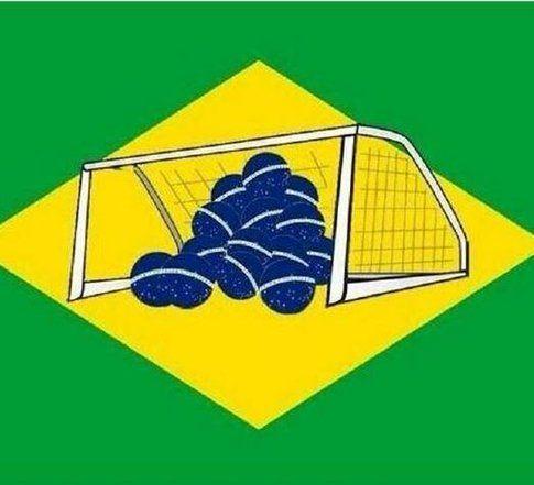 Bandiera del Brasile rivisitata