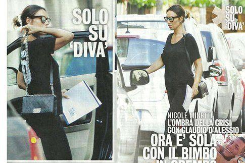 Foto dal settimanale Diva e Donna