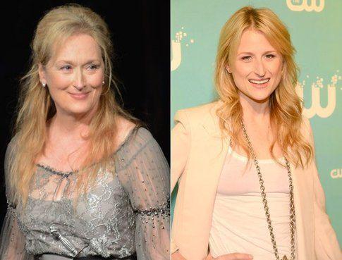 Meryl Streep e sua figlia Mamie