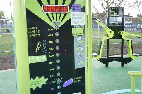 Green Heart della Great Outdoor Gym Company