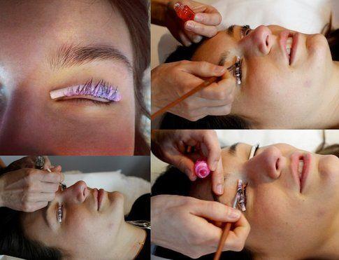 Applicazione Permanente e collagene  - Fonte: www.styleandtrouble.com