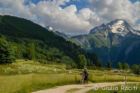 Les Deux Alpes in estate
