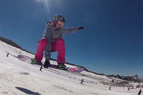 Snowboard a Les Deux Alpes - Photocredit www.bestholiday.it