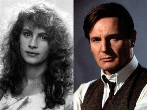 Liam Neeson e Julia Roberts