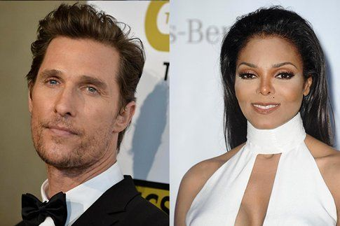 McConaughey e Janet Jackson