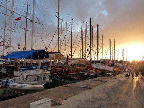 Dal porto - foto di Elisa Chisana Hoshi
