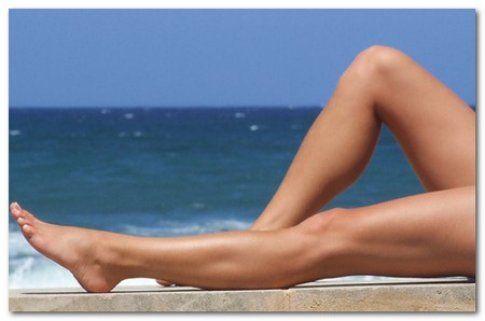 Se siete al mare camminate con l'acqua fino a metà coscia, vi aiuterà moltissimo! - Fonte: www.bellezzasalute.it
